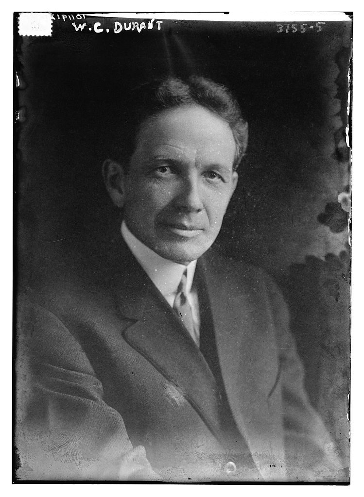 William Crapo Durant, founder of General Motors. Photo Credit: Bain Collection, Library of Congress Prints and Photographs Division